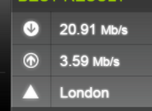 UK L2TP Speedtest.net 2